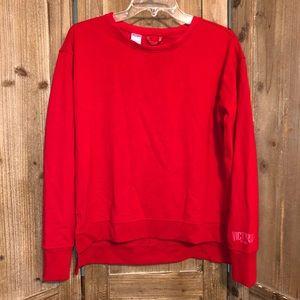 Victoria Secret sport sweatshirt. Red. XSmall